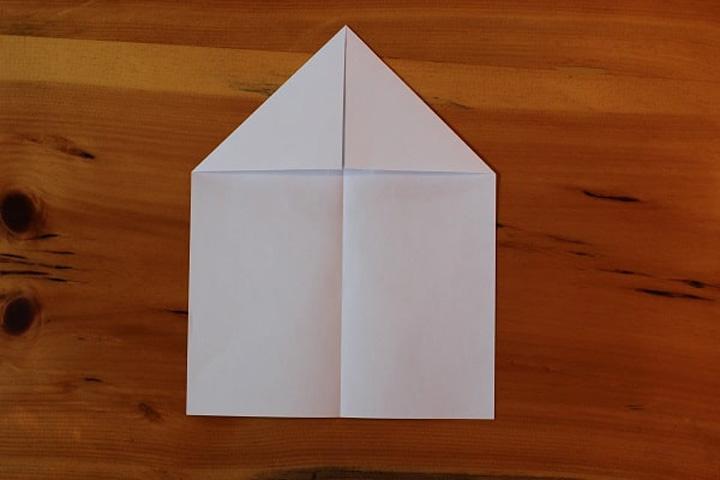 اوریگامی هواپیما مرحله ۲