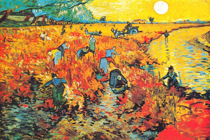 Red Vineyard by Vincent Van Gogh