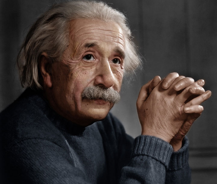 The great physicist Albert Einstein