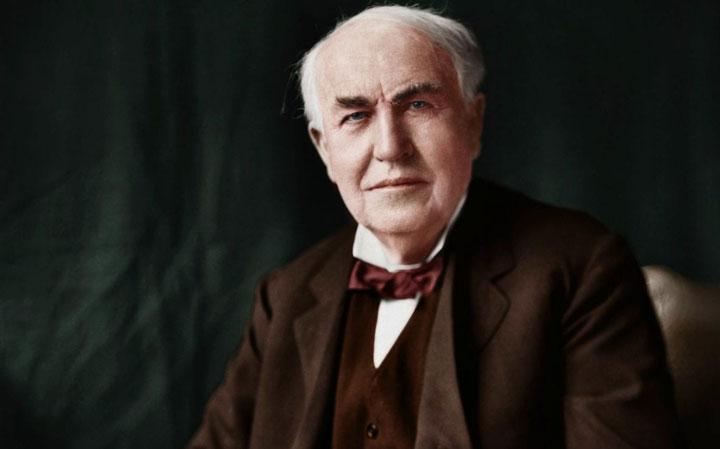 ۳. توماس ادیسون (Thomas Edison)
