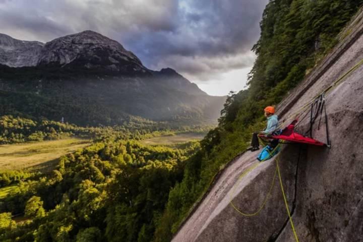 دره کوشامو در شیلی - یکی از مقاصد صخره نوردی در دنیا