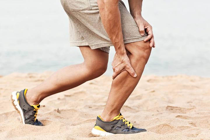 نحوه صحیح دویدن - گرفتگی عضلههای پا