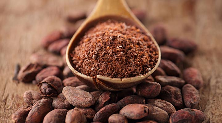کاکائو از بهترین منابع پری بیوتیک محسوب میشود.