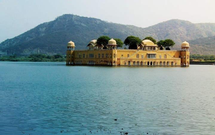 کاخ جال محل/ قصر آبها، از زیباترین کاخهای جهان