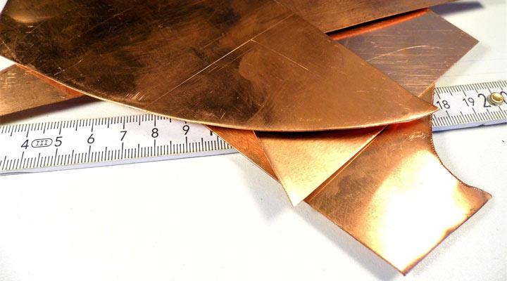 کار با فلز - مس
