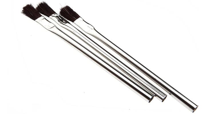 کار با فلز - برس لحیم