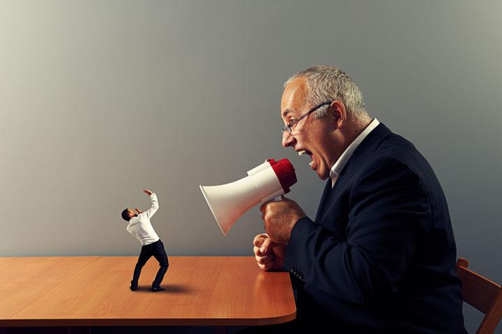 تحقیر شدن در محیط کار