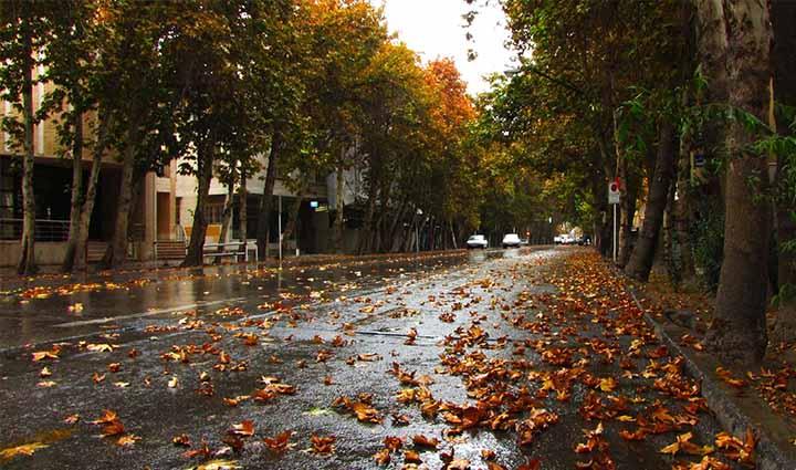 تهران گردی در خیابان ولیعصر