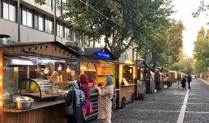 تهران گردی در خیابان سی تیر