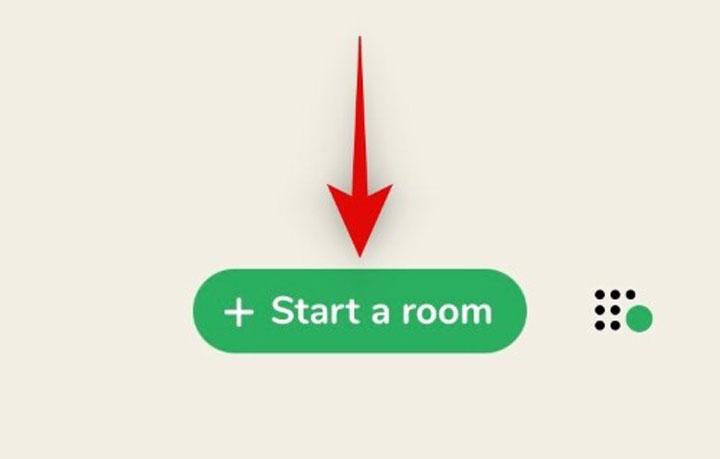 راه اندازی یک اتاق در کلاب هاوس