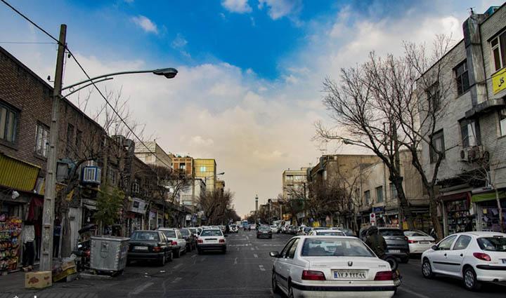 تهران گردی در محله سلسبیل