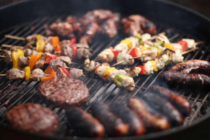 ترکیبات شیمیایی مضر در گوشت کبابی