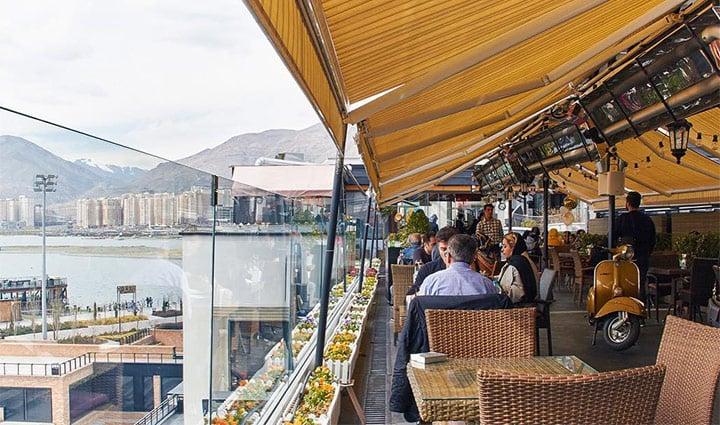 کافه روباز شمرون - کافه روباز در تهران