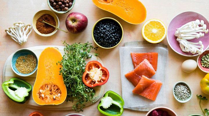 تاثیر خوردن غذای سالم بر سلامت بدن و عمر طولانی