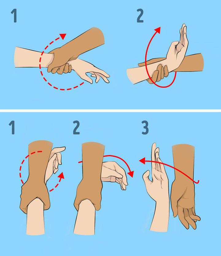 تکنیک آزاد کردن دستها در دفاع شخصی