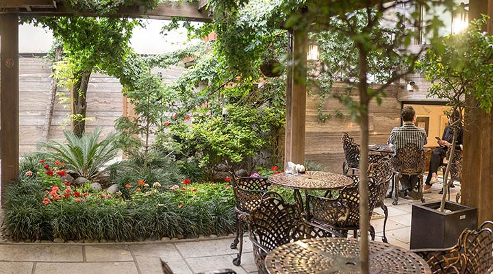 رستوران گیاهی تهران - رستوران آناندا