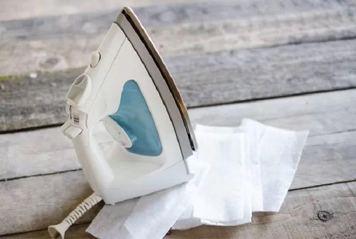 تمیز کردن اتو از کاربردهای ورق خشک کن