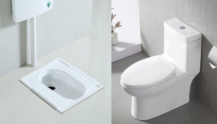 توالت ایرانی یا فرنگی