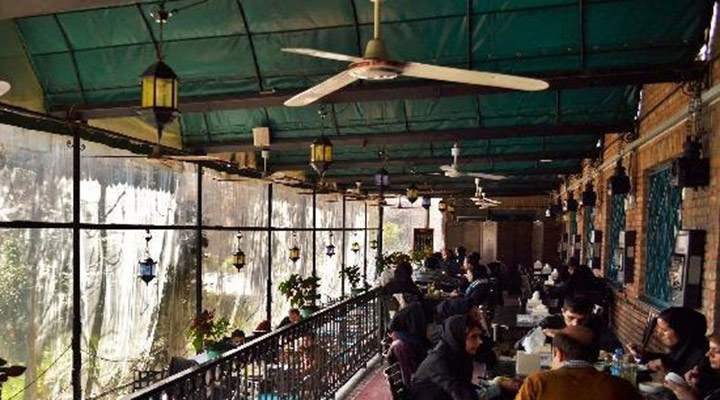 رستوران گیاهی تهران - انجمن خانه هنرمندان