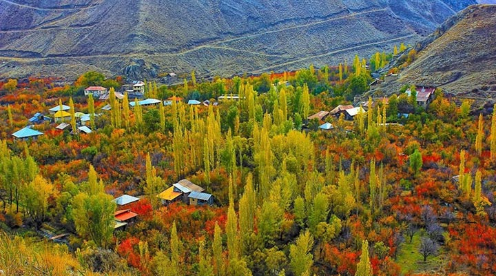 روستای شهرستانک از مقاصد کمپینگ اطراف تهران