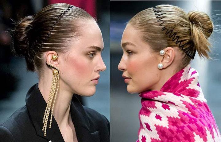 مدل موی تابستانه ـ تل های مدل دار