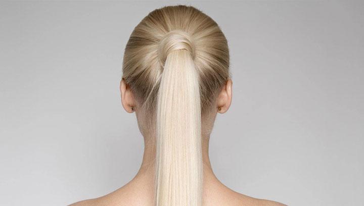مدل موی تابستانه ـ بستن دم اسبی با موها