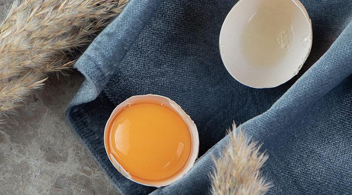 ماسک آبرسان مو با تخم مرغ