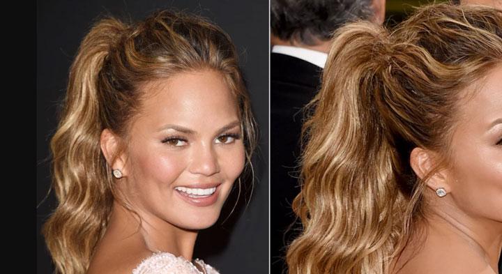 مدل موی تابستانه ـ دم اسبی حجم دار