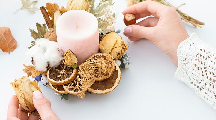 شمع معطر برای هدیه به دوست افسرده