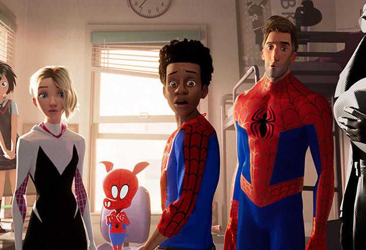 فیلم انیمیشن مرد عنکبوتی: به درون دنیای عنکبوتی از بهترین فیلم های ابرقهرمانی