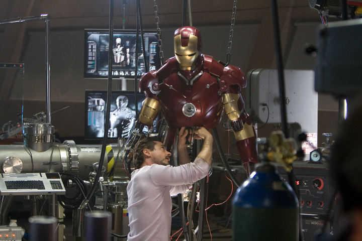 فیلم ابرقهرمانی مرد آهنی