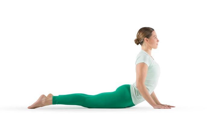 ورزش برای خوش فرم شدن سینه - حرکت کبری