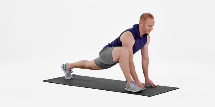 حرکات سرد کردن پاها بعد از ورزش