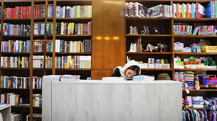 بوکشار از بهترین کتاب فروشی های تهران