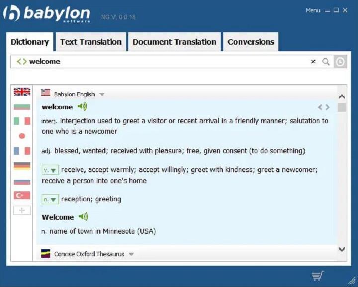 دیکشنری بابیلون برای کامپیوتر - بهترین دیکشنری انگلیسی به فارسی