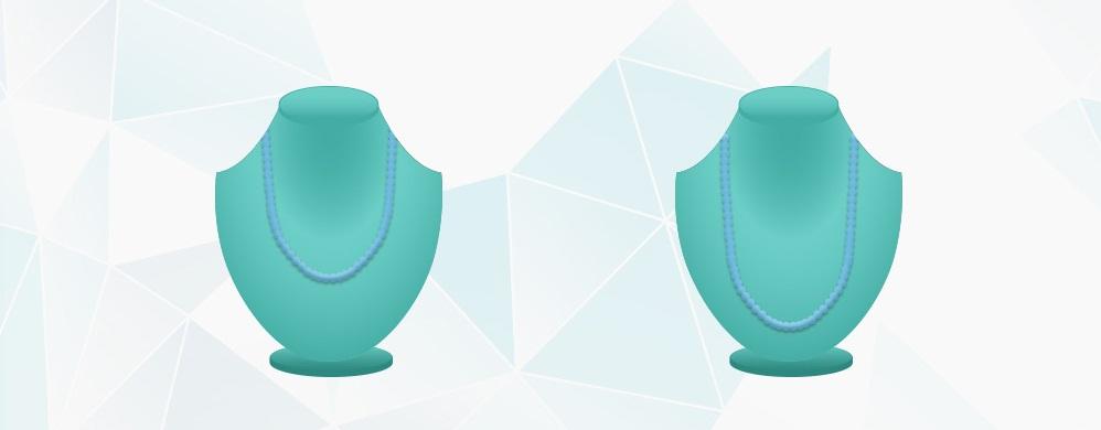 انواع گردنبند اپرا و طنابی