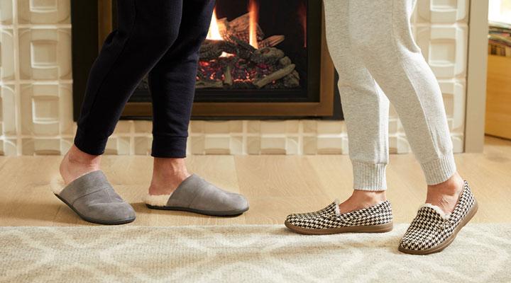 دمپایی روفرشی مناسب با بهبود گردش خون در پا کمک میکند
